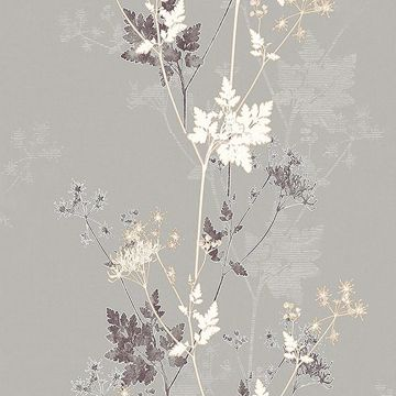 Picture of Tara Bronze Sprig Wallpaper