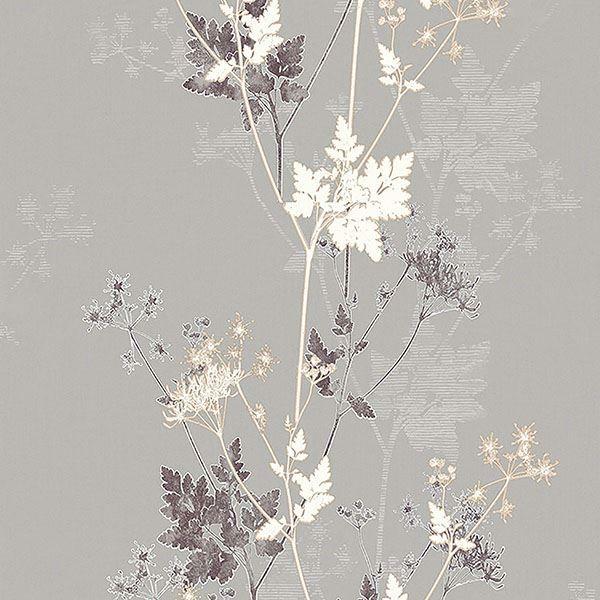 Picture of Tara Bronze Sprig Wallpaper