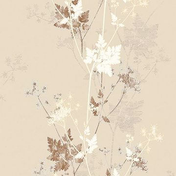 Picture of Tara Cream Sprig Wallpaper