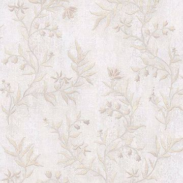 Picture of Dahlia Ivory Trail Wallpaper