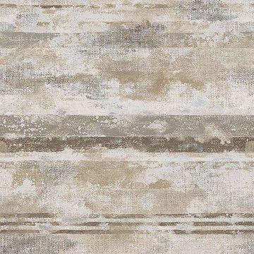 Picture of Abigal Beige Stripe Wallpaper