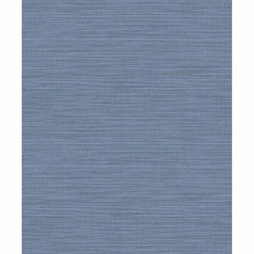 Picture of Ashleigh Blue Linen Texture Wallpaper