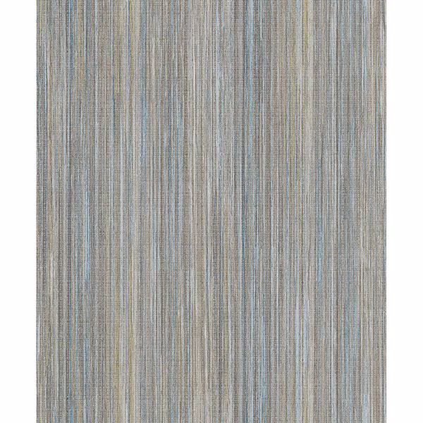 Picture of Audrey Multicolor Stripe Texture Wallpaper