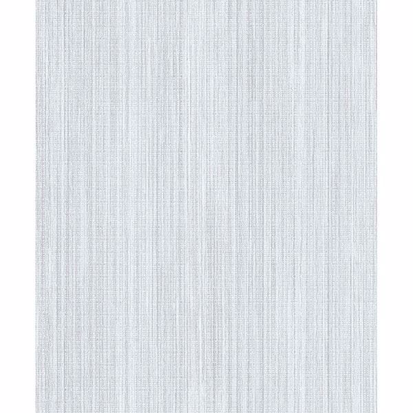 Picture of Audrey Light Blue Stripe Texture Wallpaper