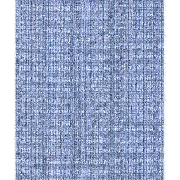 Picture of Audrey Blue Stripe Texture Wallpaper