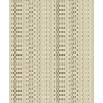 Picture of Morgen Gold Stripe Wallpaper