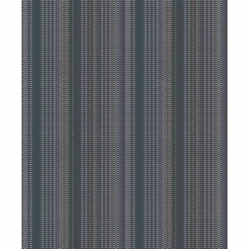 Picture of Morgen Navy Stripe Wallpaper