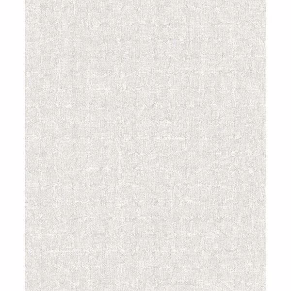 Picture of Vivian Light Grey Linen Wallpaper
