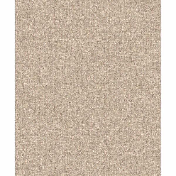 Picture of Vivian Khaki Linen Wallpaper