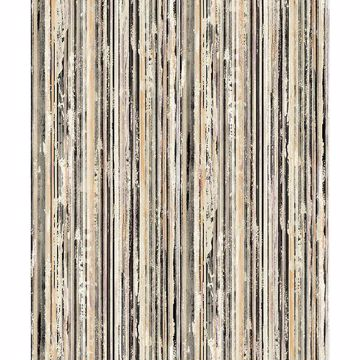 Picture of Savanna Multicolor Stripe Wallpaper
