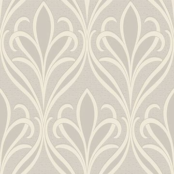 Picture of Vivian Dove Nouveau Damask Wallpaper