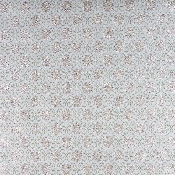 Picture of Madelyn Turquoise Small Damask Wallpaper