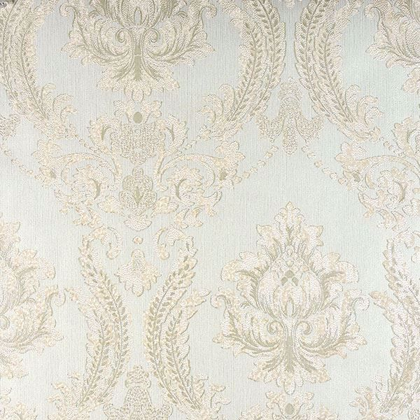 Picture of Maizey Mint Damask Wallpaper