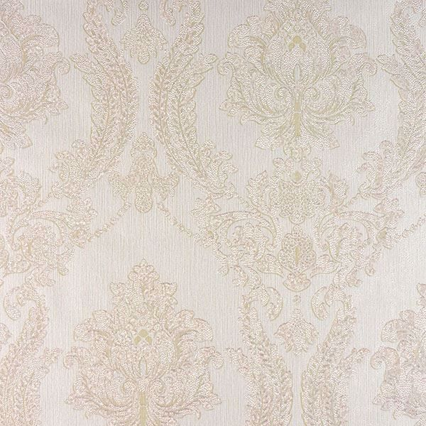 Picture of Maizey Cream Damask Wallpaper