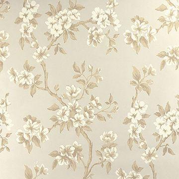 Picture of Ellen Beige Floral Wallpaper