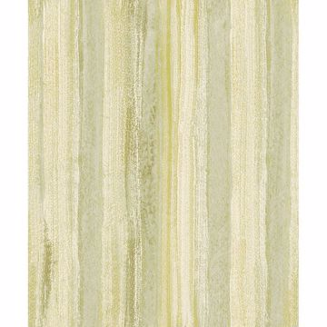 Picture of Donella Green Stripe Wallpaper