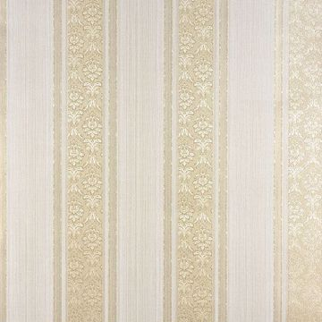 Picture of Mackenzie Gold Stripe Wallpaper