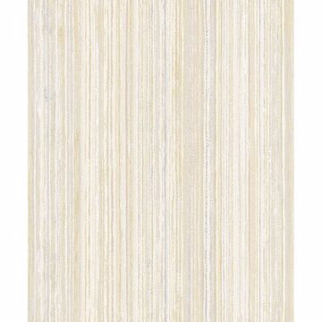Picture of Grace Yellow Stripe Wallpaper