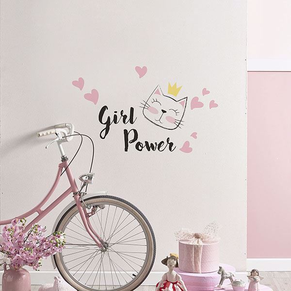 Picture of Girl Power Wall Quote Decals