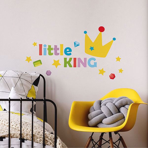 Picture of Little King Wall Quote Decals