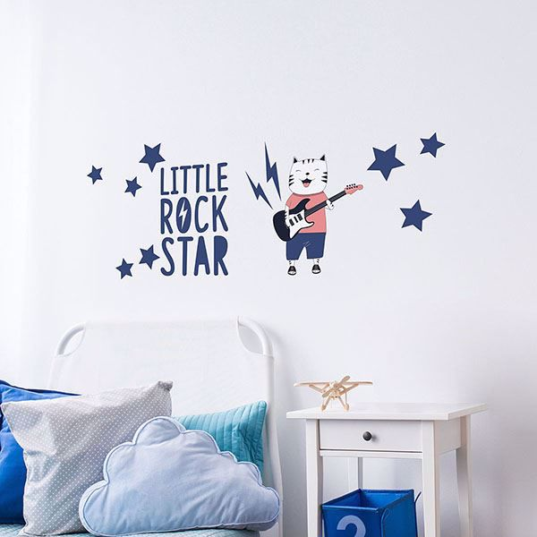 Picture of Rock Star Wall Quote Decals