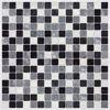 Black & White Peel and Stick Tiles