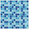 Light Blue Peel and Stick Tiles