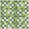 Green Peel and Stick Tiles