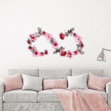 Picture of Infinity Flower Wall Decals