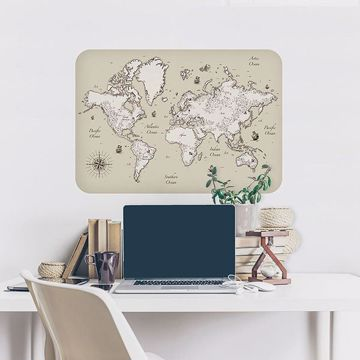 Picture of Sailing Ships Map Wall Decals
