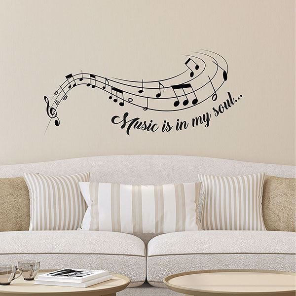 Picture of Music Is Wall Decals