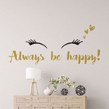 Picture of Happy Wall Quote Decals