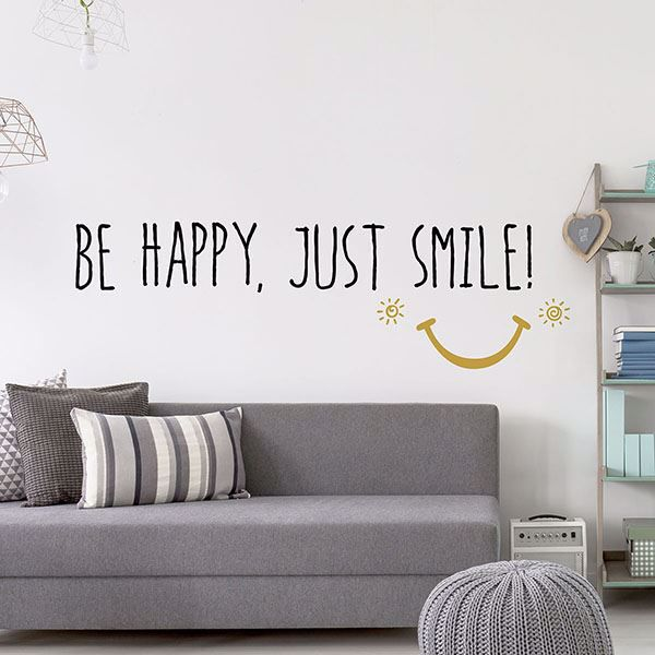 Picture of Smile Wall Quote Decals