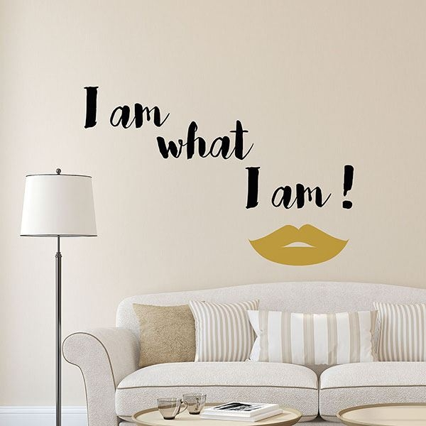 Picture of What I Am Wall Quote Decals