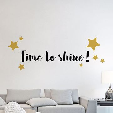 Picture of Shine Wall Quote Decals