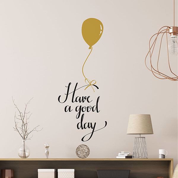 Picture of Good Day Wall Quote Decals