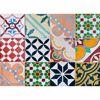 Colorful Tiles Kitchen Panels