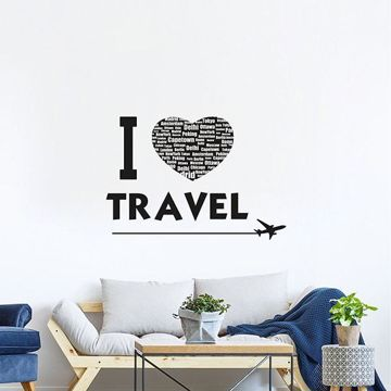 Picture of Travel Wall Quote Decals