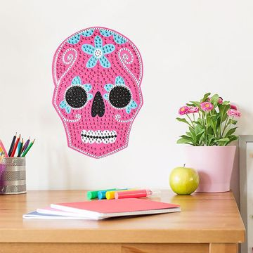 Picture of Sugar Skull Bling Art
