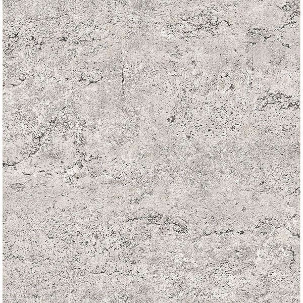 Picture of Grey Concrete Peel and Stick Wallpaper
