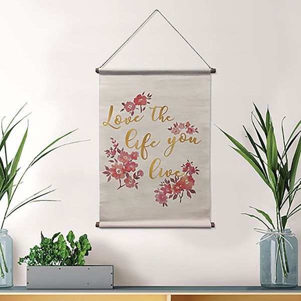 Picture of Love Your Life Wall Tapestry