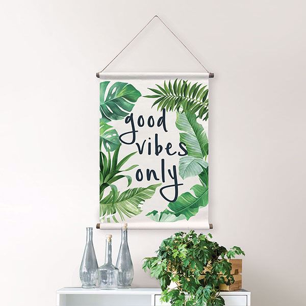 Picture of Good Vibes Wall Tapestry