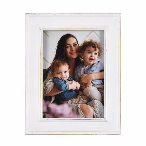 Picture of Longwood Rustic White 5x7 Picture Frame