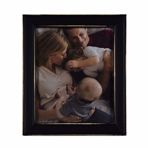 Picture of Longwood Rustic Black 8x10 Picture Frame