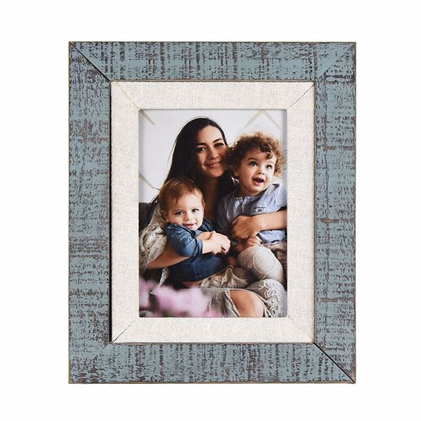 Picture of Dennisport Linen and Wood 5x7 Picture Frame