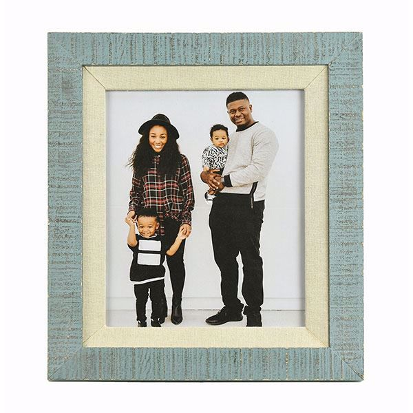 Picture of Dennisport Linen and Wood 8x10 Picture Frame