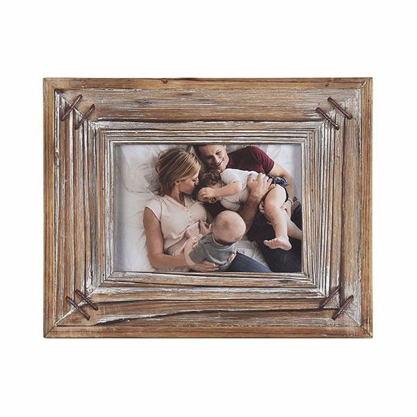 Picture of Fellman Rustic Wood 5x7 Picture Frame