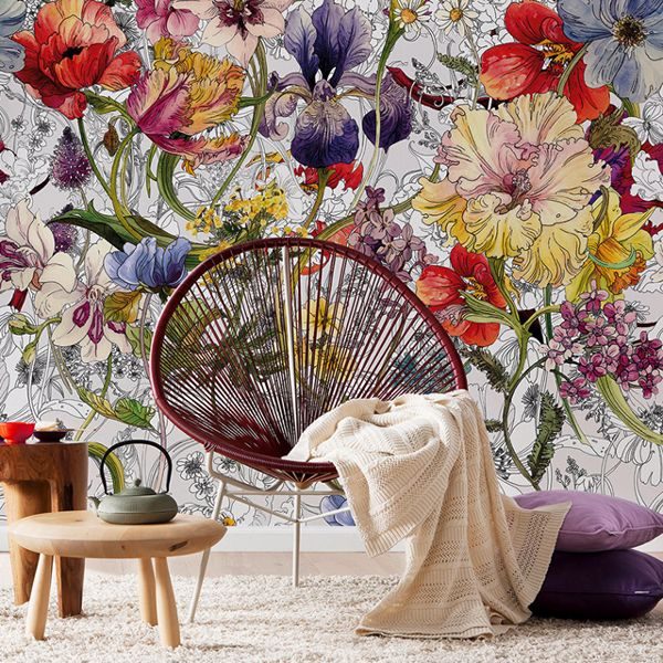 Picture for category Flowers Murals