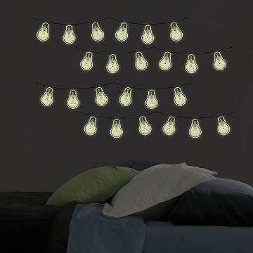 Bright Ideas Glow in the Dark Wall Art Kit