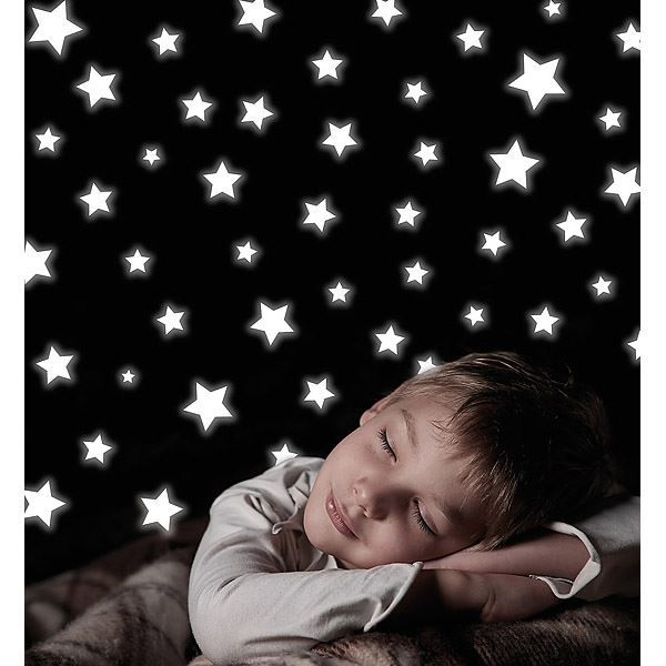 Stars Glow in the Dark Wall Decals